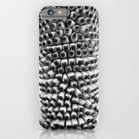 Bananas Black And White iPhone 6 Slim Case