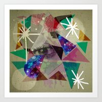 oh lovely things Art Print