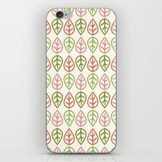 Greenwood leaf iPhone & iPod Skin