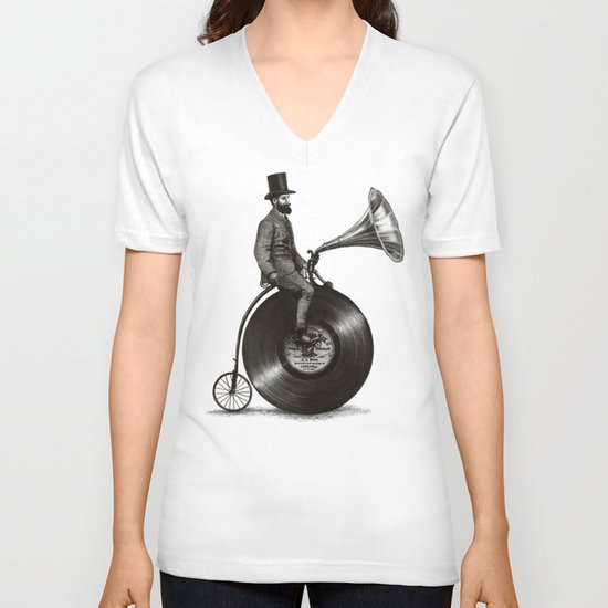 Music Man V-neck T-shirt