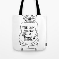 I Became Useless... Tote Bag