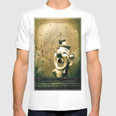 Clown Games SMALL White Mens Fitted Tee