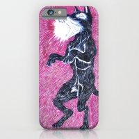 Black Dog Rampage iPhone 6 Slim Case
