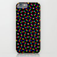iPhone & iPod Case featuring RED GREEN BLUE COSMOS by Mr.DOT