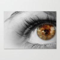 Twinkle In Her Eye Canvas Print