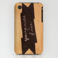 iPhone 3Gs & iPhone 3G Cases featuring Young, Wild, & Free by Sweet Colors Gallery
