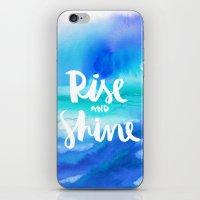 Rise & Shine [Collaboration with Jacqueline Maldonado] iPhone & iPod Skin