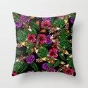 Tropical Koi Throw Pillow