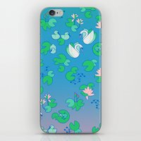 Lily Pond iPhone & iPod Skin