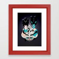 Les Aristos Framed Art Print