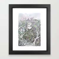 Mother Earth Was A Child… Framed Art Print
