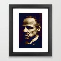 Godfather - I Will Make … Framed Art Print