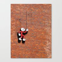 Reddy or Not Canvas Print