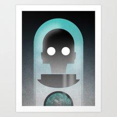 Mr. Freeze Art Print