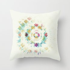 Burst. Throw Pillow