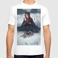 Destructive Desire Mens Fitted Tee White SMALL