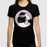 No Nonsense About Angels And Being Good Womens Fitted Tee Black SMALL