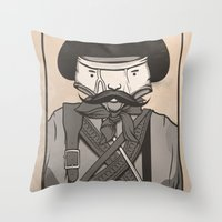 WANTED: SENOR UNDERPANTS Throw Pillow