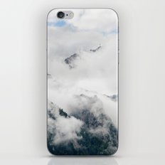 Foggy Cloudy Mountains iPhone & iPod Skin