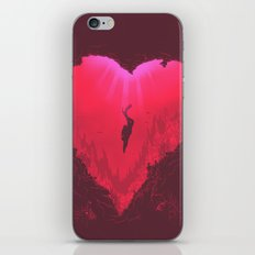 dive into your heart iPhone & iPod Skin