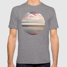 FADING MEMORIES Mens Fitted Tee Tri-Grey SMALL