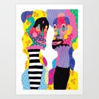 Weird & Weirder Art Print