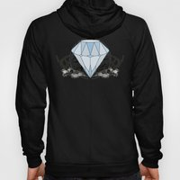 Diamond and skulls Hoody