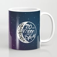 I LOVE YOU To The MOON A… Mug