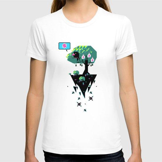 Greedy Grackle T-shirt