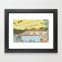 The Amazon Queen Framed Art Print