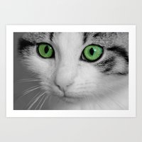 Art Print featuring KITTURE by Catspaws