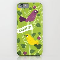 iPhone & iPod Case featuring 4 Seasons - Summer by ellis