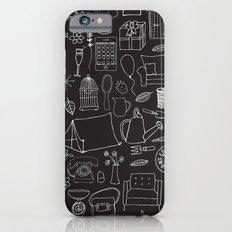 Simple things negative iPhone 6 Slim Case