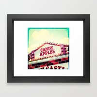 Candy Apples Framed Art Print