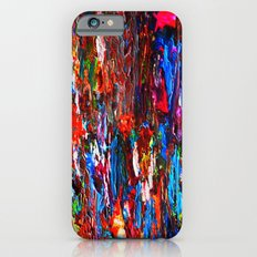color mix / palette knife abstract Slim Case iPhone 6s