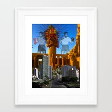 SUNCITY Framed Art Print