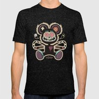 Freemouse (without background) Mens Fitted Tee Tri-Black SMALL