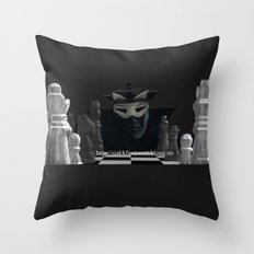 Sjakkfantomet Throw Pillow