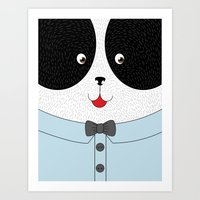 Lovely Panda! - Cute, Fu… Art Print