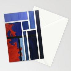 Blue Me Orange Stationery Cards