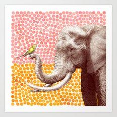 New Friends 2 by Eric Fan & Garima Dhawan Art Print