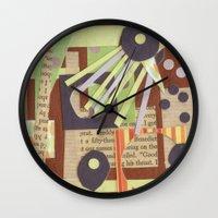 Louise's Lash Wall Clock