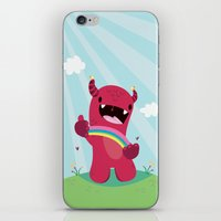Nature Monster iPhone & iPod Skin