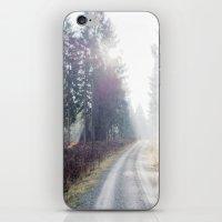 shining wood. iPhone & iPod Skin