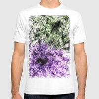 Hidden Faces Mens Fitted Tee White SMALL