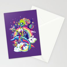 Rainbow Apocalypse Stationery Cards