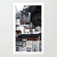 This Way Home Art Print