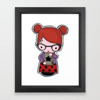 momiji Framed Art Print