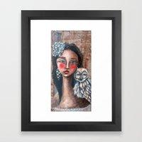 Beyond the Veil Framed Art Print