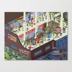 Zombie Mall... Canvas Print